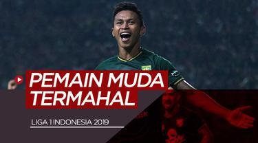 Berita video 10 pesepak bola muda Indonesia termahal di Liga 1 Indonesia 2019.