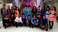 Beberapa finalis Dangdut Academy Indosiar merasa tidak ada saingan dengan finalis lainnya. (foto: Miftahul Hidayat)