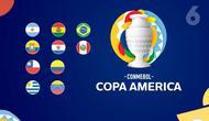 Banner Copa America 2020/2021. (Liputan6.com/Trie Yasni)