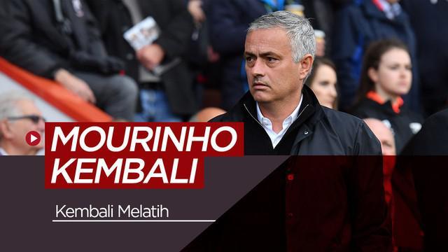 Berita video rencana Jose Mourinho yang akan kembali melatih pada musim panas nanti.
