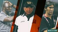 Trivia Pelatih di Liga 1 (Bola.com/Adreanus Titus)