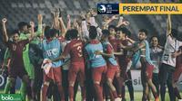 Timnas Indonesia U-19 Lolos Perempat Final Piala AFC 2018 (Bola.com/Adreanus Titus)