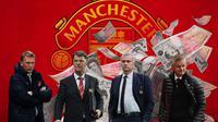 Manchester United - David Moyes, Louis van Gaal, Jose Mourinho, Ole Gunnar Solskjaer (Bola.com/Adreanus Titus)