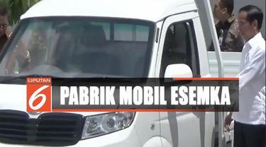 Presiden Jokowi optimistis mobil esemka akan laku keras di pasar Indonesia.
