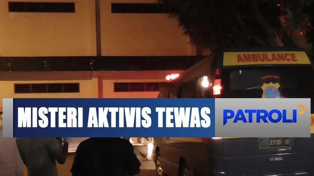 Kematian tak wajar, jasad aktivis Walhi Sumatra Utara Goldfried Siregar diautopsi.