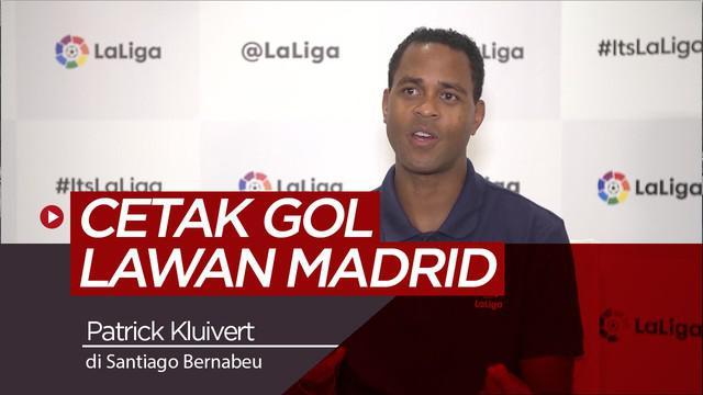 Berita video tentang kenangan legenda Barcelona, Patrick Kluivert saat mencetak gol di markas Real Madrid saat El Clasico.