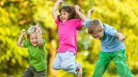usia satu hingga lima tahun harus lebih banyak bergerak untuk mengoptimalkan kecerdasannya.