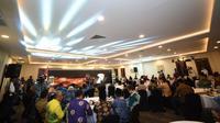 Suasana Pembukaan Rakernas Evaluasi Penyelenggaraan Ibadah Haji 1440H/2019M, Selasa (08/10). (Foto: Fikri NR)