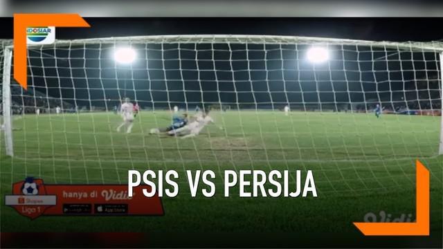 PSIS Semarang berhasil menjegal Persija Jakarta dengan skor 2-1 di pekan kedua Shopee Liga 1 2019 di Stadion Madya, Magelang, Minggu (26/05).