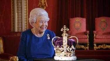 6 Fakta Unik Mahkota Ratu Elizabeth II, Terbuat dari Ragam Batu Mulia
