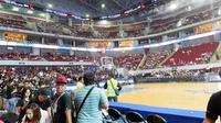 Mall of Asia Arena di Manila, Filipina. (Bola.com/Yus Mei Sawitri)