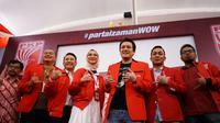 Staf Khusus Milenial Presiden Bidang Disabilitas yang juga kader PKPI, Angkie Yudistia menghadiri Bimbingan Teknis Kader PKPI 2019 di Mercure Hotel, Jakarta Selatan, Jumat (13/12/2019). Terlihat Ketua Umum PKPI Diaz Hendropriyono ikut mendampingi.