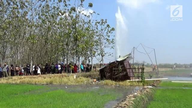 Pemerintah Kabupaten Ngawi, Jawa Timur akan mendatangkan tim ahli untuk meneliti sumur pompa yang mengeluarkan semburan air misterius di persawahan Desa Sidolaju, Kabupaten Ngawi.