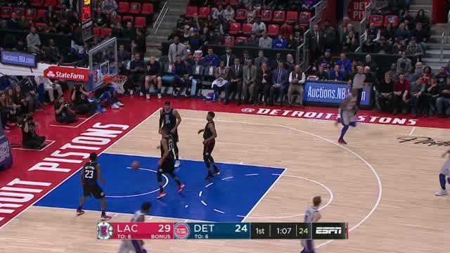 Berita video game recap NBA 2017-2018 antara LA Clippers melawan Detroit Pistons dengan skor 108-95.