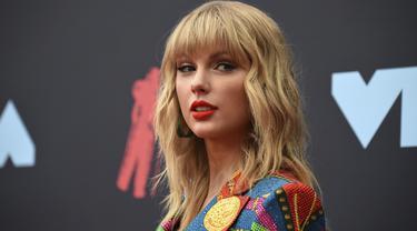 Taylor Swift di MTV VMA 2019 (Photo by Evan Agostini/Invision/AP)