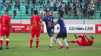 Duel PSIS vs Barito Putera di Stadion Moch. Soebroto, Magelang, Sabtu (13/10/2018). (Bola.com/Ronald Seger Prabowo)