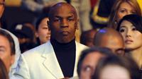 Mike Tyson (GABRIEL BOUYS / AFP)