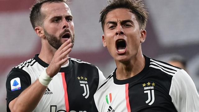 Striker Juventus, Paulo Dybala (MIGUEL MEDINA / AFP)