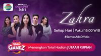 Nonton episode lengkap mega seri Suara Hati Istri Zahra di platform streaming Vidio. (Dok. Vidio)