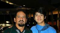 Arbani Yasiz Bersama Mendiang Ayah (Sumber: Instagram/atieklibrazy)