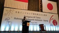 Wapres Jusuf Kalla menghadiri upacara pembukaan Perayaan 60 Tahun Hubungan Diplomatik Indonesia-Jepang di Hotel Indonesia Kempinski, Jakarta Pusat. (Istimewa)