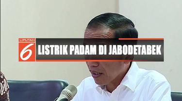 Presiden Jokowi temui Plt Dirut PLN Sripeni untuk minta penjelasan dan pertanggungjawaban manajemen terkait listrik padam massal.