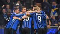 Atalanta memastikan diri lolos ke babak 16 besar dalam musim debutnya di Liga Champions. (Foto: Squawka)