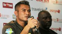 Shahar Ginanjar mengaku tidak maksimal setelah Barito Putera kalah dari Arema. (Bola.com/Iwan Setiawan)