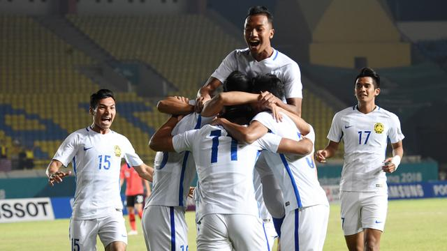 Sepak Bola : Malaysia Vs Korea Selatan