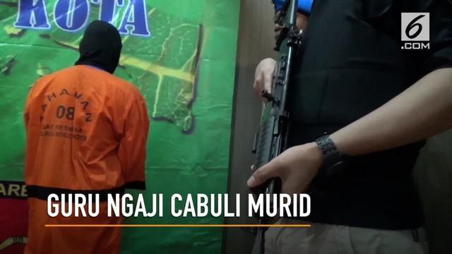 Seorang guru ngaji di Bogor mengaku kesepian dan melampiaskan hasrat seksualnya pada murid-muridnya selama 2 tahun.