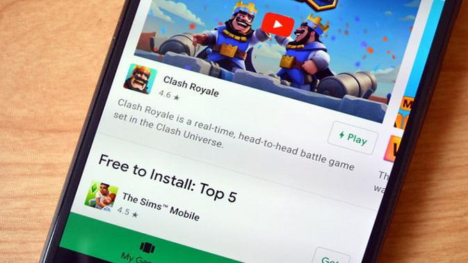 Ilustrasi Google Play Instant, fitur terbaru yang memungkinkan pengguna Android menjajal gim mobile sebelum mengunduh dan menginstalnya di perangkat. (Foto: Digital Trends)