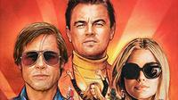 Once Upon a Time in Hollywood masuk dalam nominasi Golden Globe 2020  ( © Sony Pictures Entertainment)
