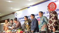 Konferensi Pers Paparan Kinerja Bank BTN per 30 Juni 2018.