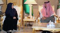Menteri Koordinator Pembangunan Manusia dan Kebudayaan, Puan Maharani, tiba di Riyadh, Rabu (19/12/2018) (Istimewa)
