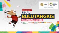 Final Bulutangkis Asian Games 2018. (Bola.com/Dody Iryawan)