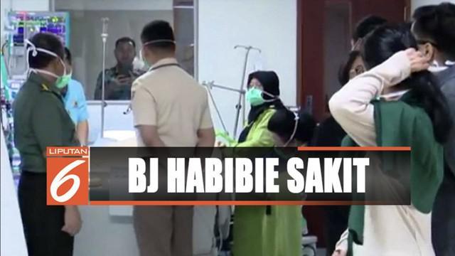 Thareq Kemal menyatakan kondisi kesehatan ayahnya, BJ Habibie berangsur membaik dan stabil.