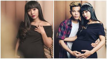 Jelang Melahirkan, Ini 5 Potret Maternity Shoot Sarah Sheilka Istri Tegar Septian