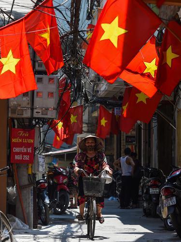 Suasana Hanoi Jelang Hari Nasional Vietnam