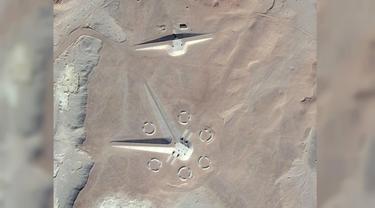 Penampakan Misterius di Gurun Mesir, UFO?