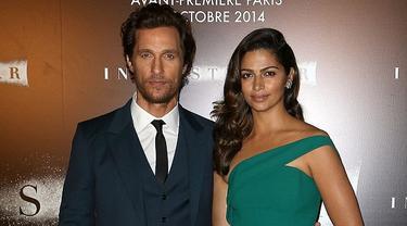 Tampilan Matthew McConaughey Saat Premiere Interstellar di Paris