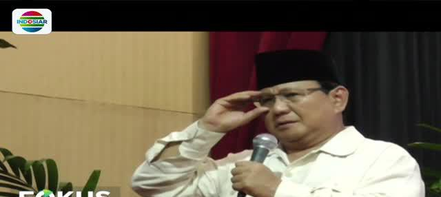 Prabowo menjanjikan jika rakyat Indonesia memberikan amanah kepadanya ia yakin bisa memperbaiki keadaan bangsa ini.