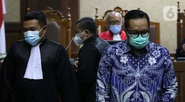 FOTO: Kasus Red Notice Djoko Tjandra, Prasetijo Utomo Dituntut 2 Tahun 6 Bulan Penjara