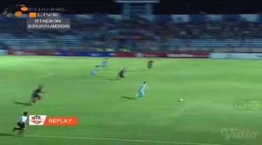 Pertandingan yang super menegangkan antara Persela vs Persipura berujung dengan skor imbang 2-2, dimana gol diciptakan oleh Rafael...