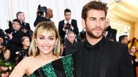 Miley Cyrus dan Liam Hemsworth akhirnya resmi menjadi pasangan suami istri pada 28 Desember 2018 lalu. (Liputan6.com/Instagram/@mileycyrus)
