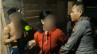 Pasutri maling ayam di Singkawang. (Liputan6.com/Aceng Mukaram)