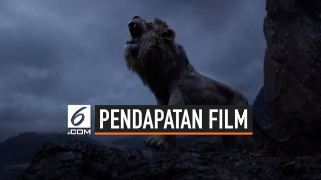 The Lion King menembus angka US$ 1 Miliar secara global atau setara dengan Rp 14 Triliun secara global. Pendapatan ini diraih kurang dari sebulan setelah pemutarannya.