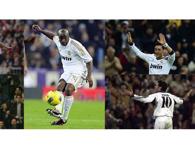 Real Madrid merupakan klub bertabur bintang, menjadi nomor 10 di Los Galacticos menjadi sebuah kebanggaan. Berikut deretan pemain dengan nomor punggung 10 di Real Madrid dari masa ke masa.