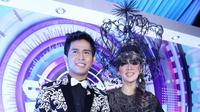 Cakra Khan dan Syahrini di SCTV Music Awards 2016. (Nurwahyunan/Bintang.com)