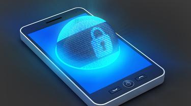 Ilustrasi menjaga keamanan data