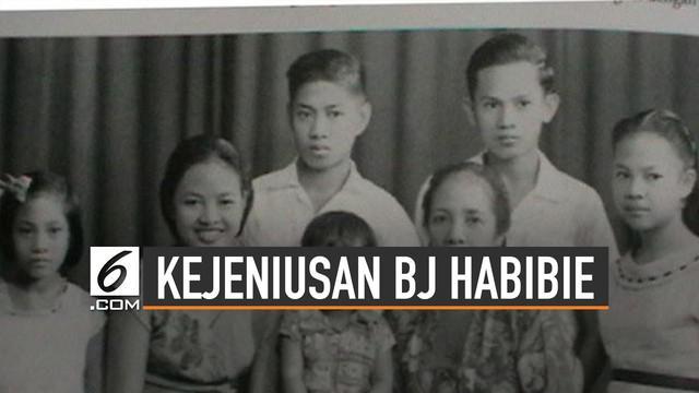 BJ Habibie dikenal sosok yang sangat jenius. Hal itu tak lepas dari jasa sang ayah Alwi Abdul Djalil dalam mendidiknya.